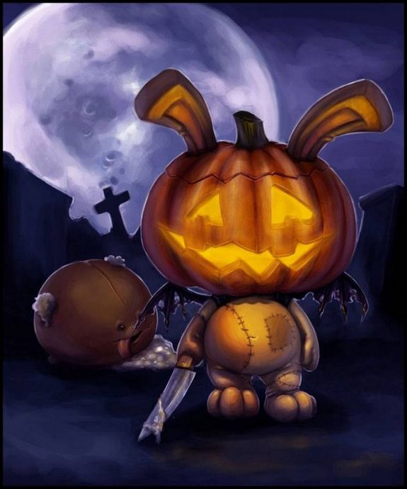 halloween art 43 in Awesome Halloween Art