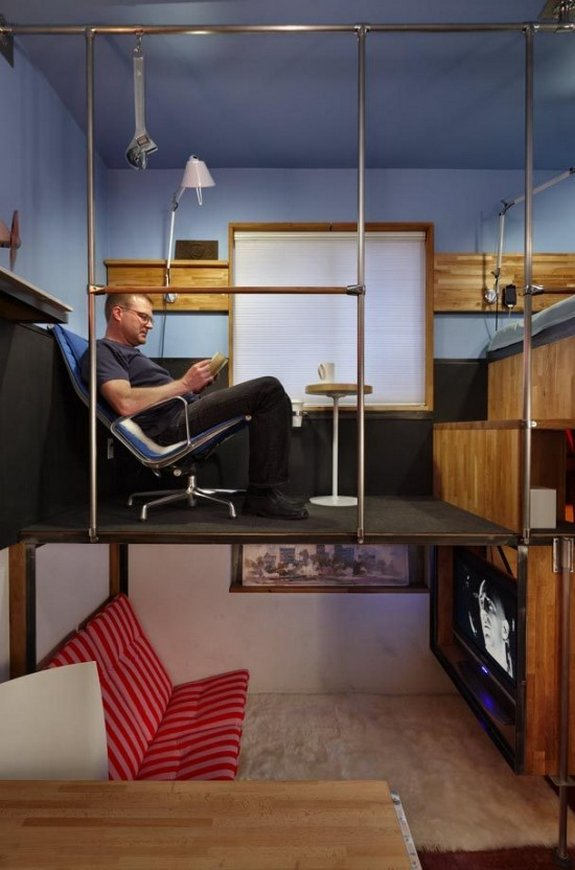 smallest apartment ever 02 in 182 Square Foot Apartment Design