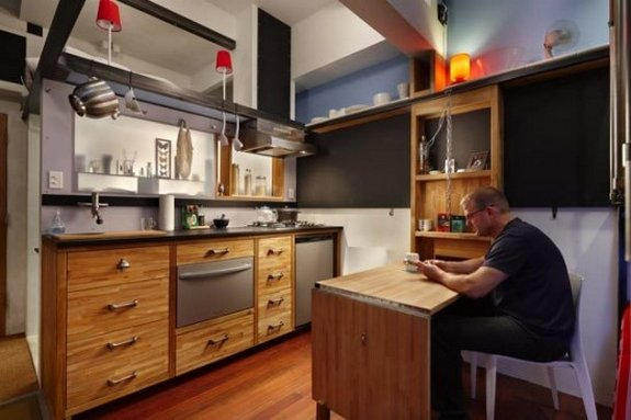 smallest apartment ever 03 in 182 Square Foot Apartment Design