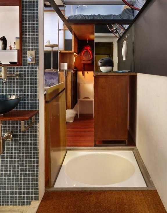 smallest apartment ever 04 in 182 Square Foot Apartment Design