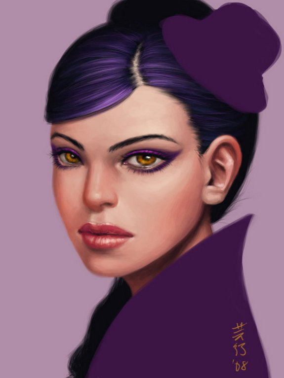 attractive female cartoon characters 09 in Very Attractive Female Cartoon Characters by Amber Chen