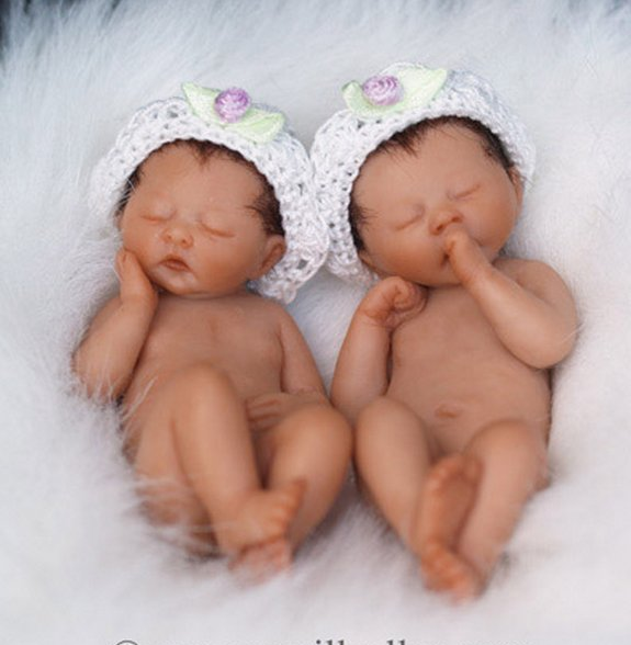 Baby Sculptures by Camille Allen