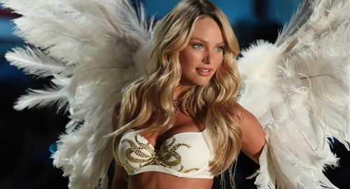 Attractive Models from Victoria's Secret Fashion Shows