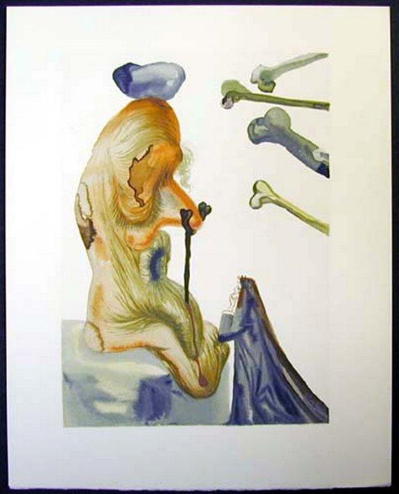 salvador dali divine comedy inferno 16 in Salvador Dalis Divine Comedy   Inferno