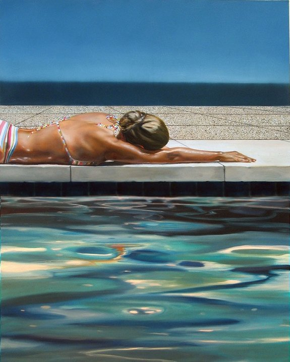 summer paintings by eric zener 01 in Incredibly Realistic Summer Paintings   Eric Zener