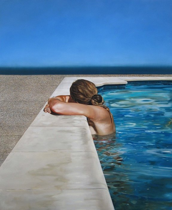 summer paintings by eric zener 02 in Incredibly Realistic Summer Paintings   Eric Zener