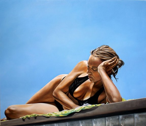 summer paintings by eric zener 03 in Incredibly Realistic Summer Paintings   Eric Zener