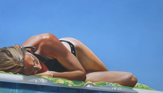 summer paintings by eric zener 04 in Incredibly Realistic Summer Paintings   Eric Zener