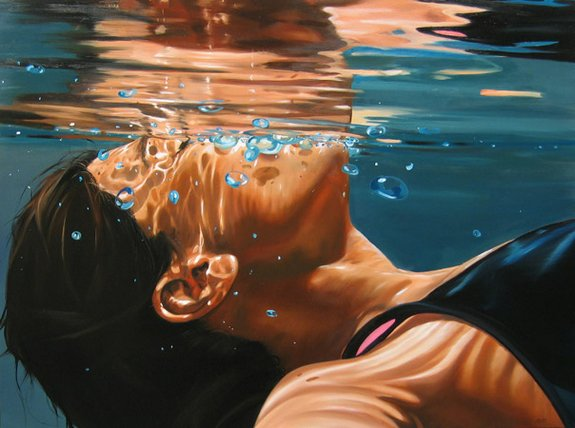 summer paintings by eric zener 07 in Incredibly Realistic Summer Paintings   Eric Zener