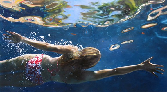 summer paintings by eric zener 12 in Incredibly Realistic Summer Paintings   Eric Zener