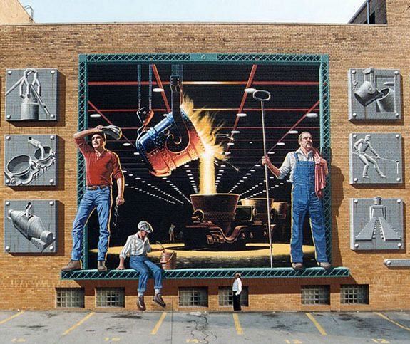 3d wall paintings 06 in Amazing Art of Painting Hyper Real Murals   By Eric Grohe
