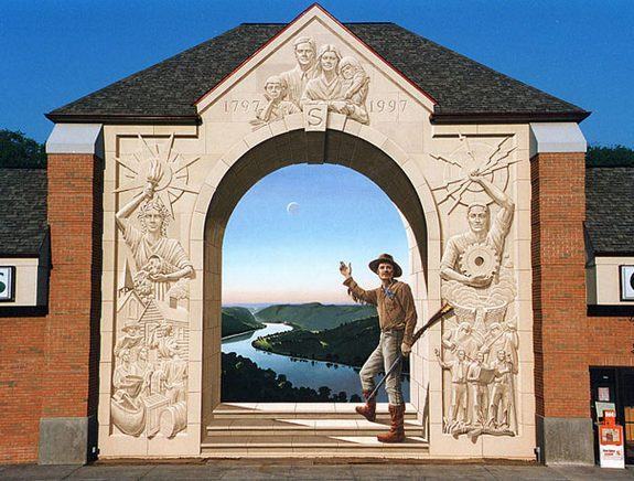 3d wall paintings 08 in Amazing Art of Painting Hyper Real Murals   By Eric Grohe