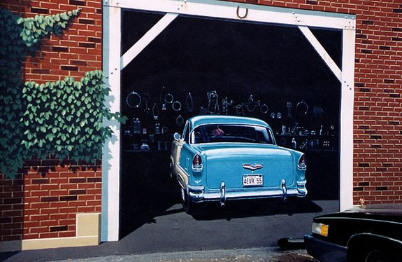 3d wall paintings 15 in Amazing Art of Painting Hyper Real Murals   By Eric Grohe