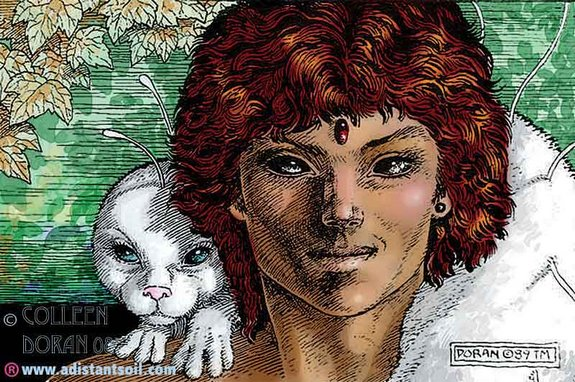 Amazing Distant Soil Novel Art
