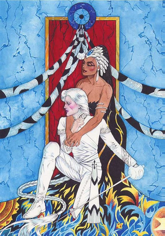 distant soil art 05 in Amazing Distant Soil Novel Art