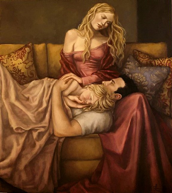 figurative paintings 17 in Figurative Paintings by Lauri Blank