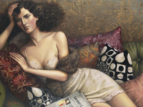figurative paintings 21 in Figurative Paintings by Lauri Blank