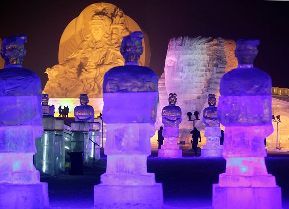harbin ice festival 12 in Harbin Ice and Snow Sculpture Festival