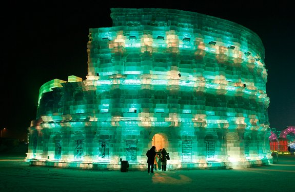 harbin ice festival 17 in Harbin Ice and Snow Sculpture Festival