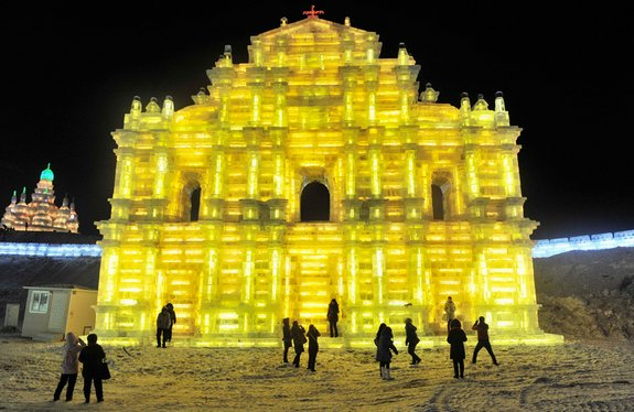 harbin ice festival 19 in Harbin Ice and Snow Sculpture Festival