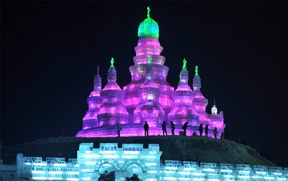 harbin ice festival 22 in Harbin Ice and Snow Sculpture Festival