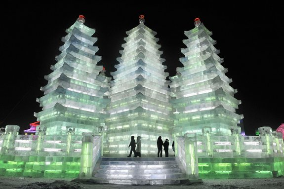 harbin ice festival 26 in Harbin Ice and Snow Sculpture Festival