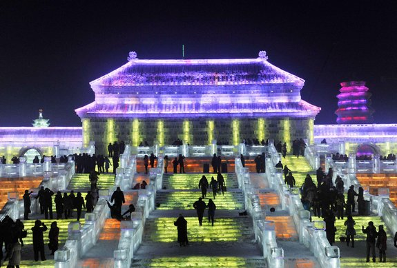 harbin ice festival 27 in Harbin Ice and Snow Sculpture Festival
