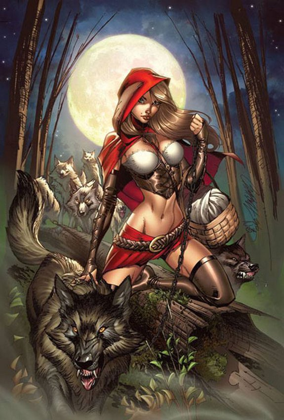 little red riding hood 04 in Little Red Riding Hood Has All Grown Up