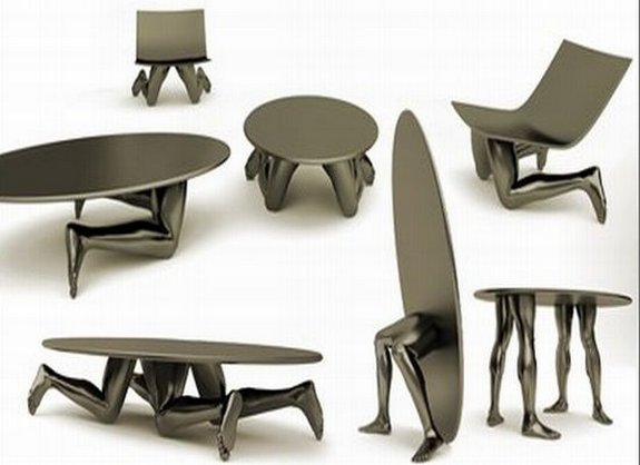 peculiarly shaped furniture 18 in Crazy Shaped Furniture Inspired by Human Body Parts 