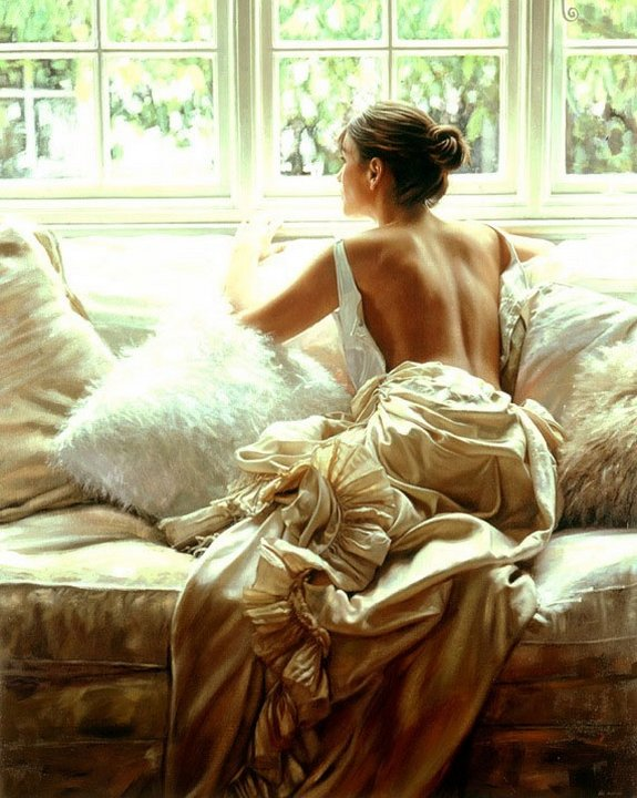 rob hefferan 01 in Essence of Women in Paintings of Rob Hefferan