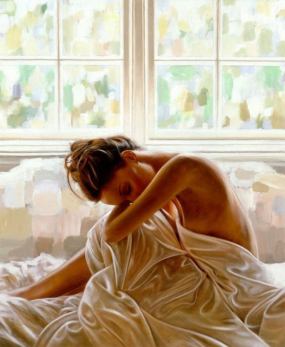 rob hefferan 03 in Essence of Women in Paintings of Rob Hefferan 