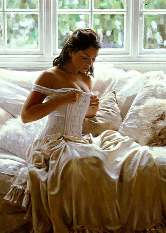rob hefferan 04 in Essence of Women in Paintings of Rob Hefferan 