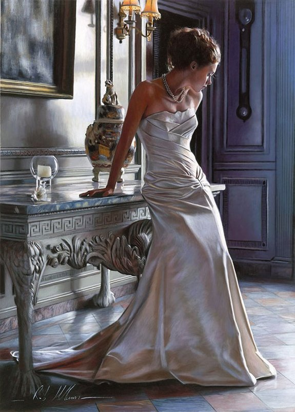 rob hefferan 07 in Essence of Women in Paintings of Rob Hefferan