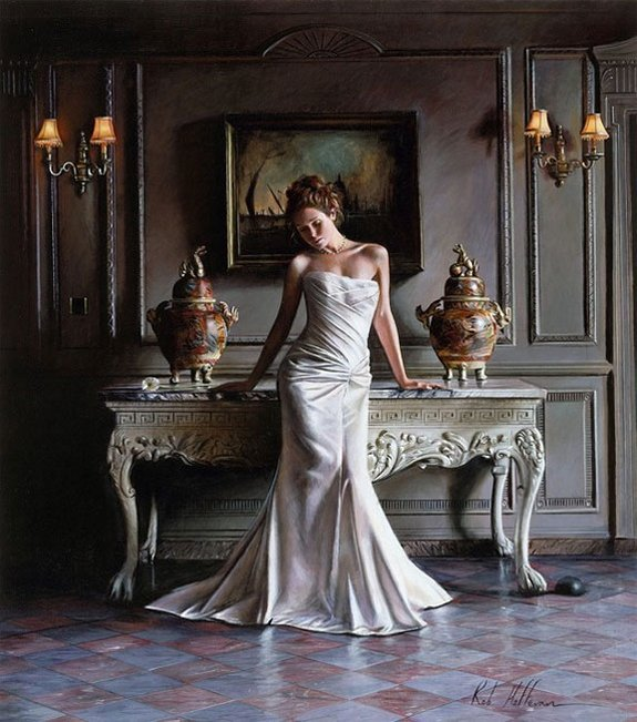 rob hefferan 08 in Essence of Women in Paintings of Rob Hefferan 