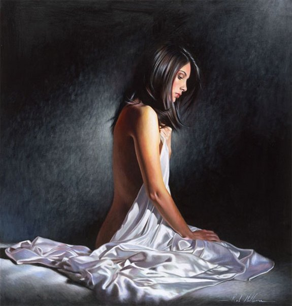 rob hefferan 15 in Essence of Women in Paintings of Rob Hefferan