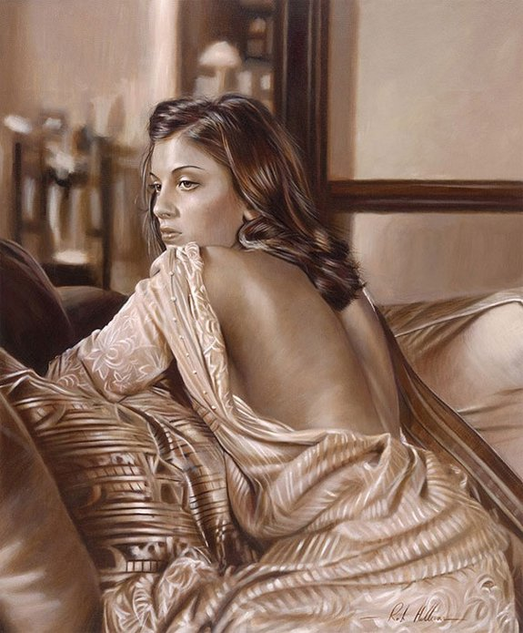 rob hefferan 18 in Essence of Women in Paintings of Rob Hefferan 