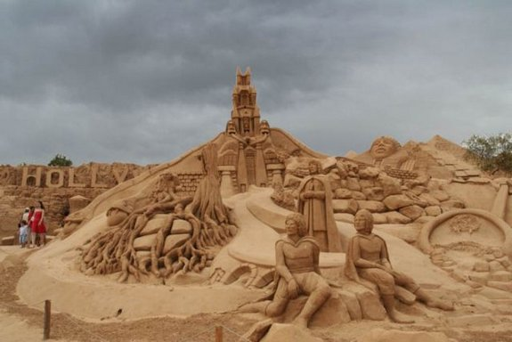 sand castles 36 in Amazing Sand World