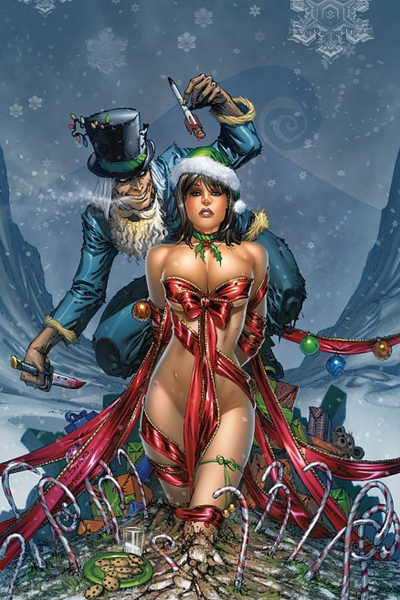zenescope wishes you merry christmas 01 in Zenescope wishes you Merry Christmas