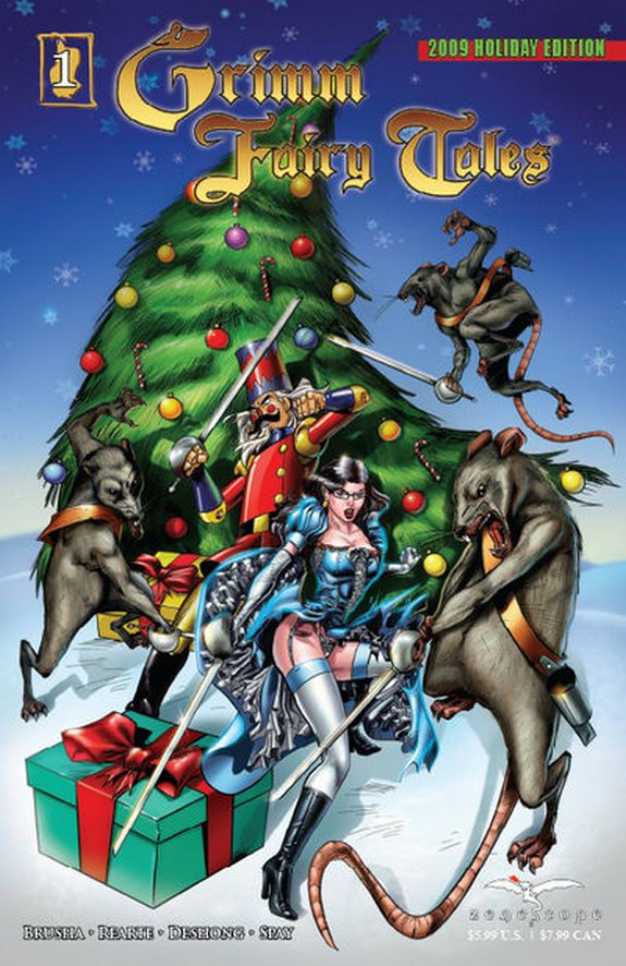 zenescope wishes you merry christmas 06 in Zenescope wishes you Merry Christmas