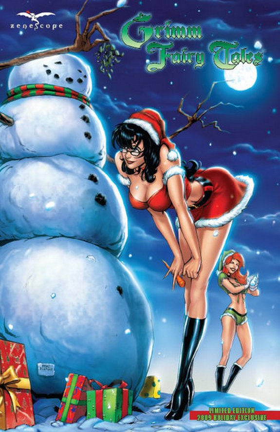zenescope wishes you merry christmas 07 in Zenescope wishes you Merry Christmas