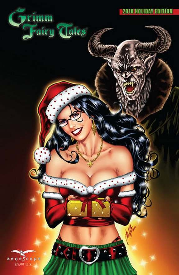 zenescope wishes you merry christmas 08 in Zenescope wishes you Merry Christmas