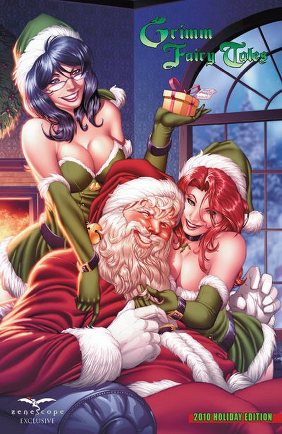 zenescope wishes you merry christmas 10 in Zenescope wishes you Merry Christmas