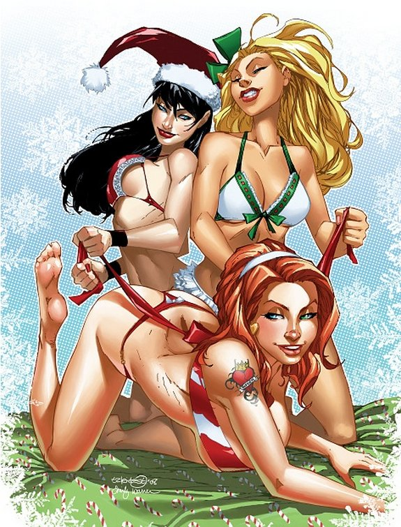 zenescope wishes you merry christmas 11 in Zenescope wishes you Merry Christmas