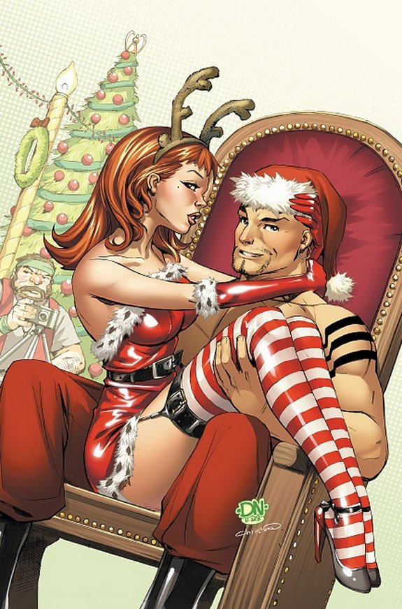 zenescope wishes you merry christmas 13 in Zenescope wishes you Merry Christmas