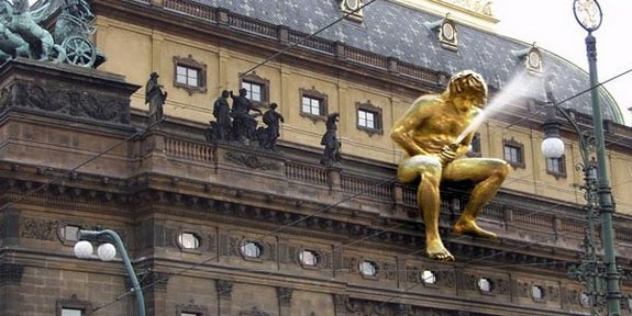 Crazy Sculptures From Prague