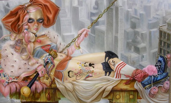 leslie ditto 07 in Amazing Paintings of Utmost Beauty