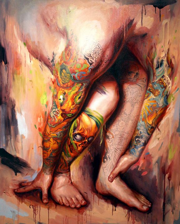 Remarkable Oil Paintings by Shawn Barber