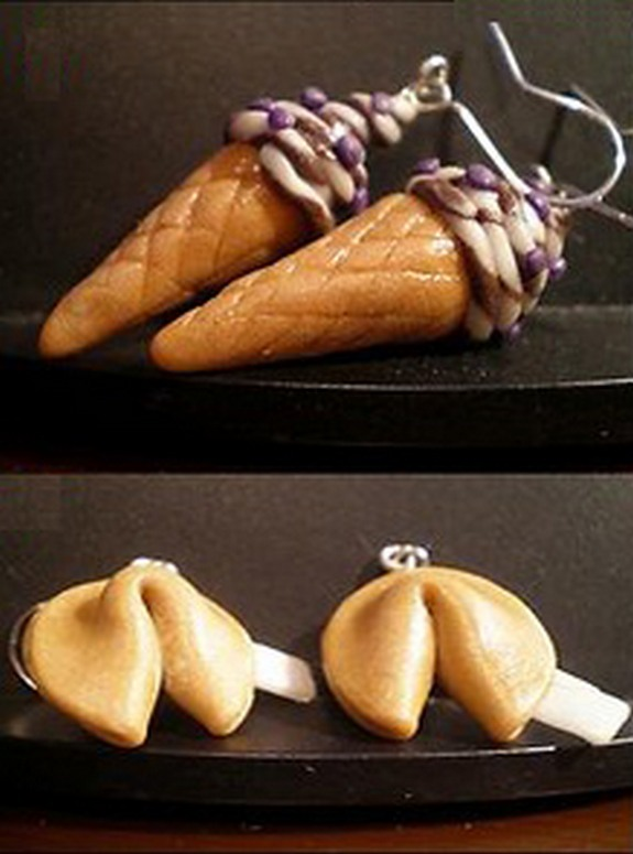 cakes earrings 10 in Cheesecake and Other Cake Earrings