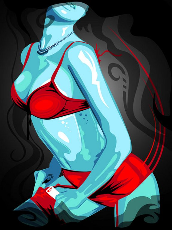 vector illustrations 01 in Awesome Vector Illustrations by Genaro De Sia Coppola