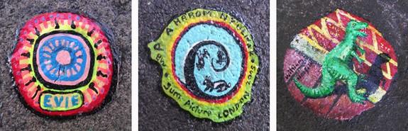 chewing gum artist 07 in London`s chewing gum artist   Ben Wilson
